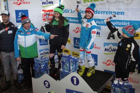 Magdalena Erlacher, 2. Rang beim NÖM Kids Cup