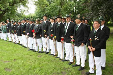 Männliches Schützenbataillon