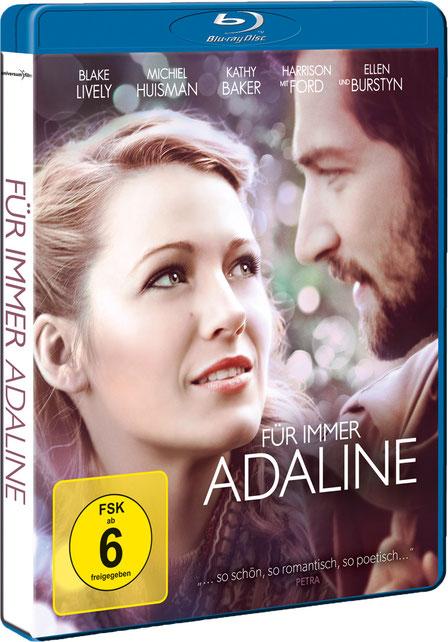 Für immer Adaline Blu-ray DVD - Blake Lively - Universum - kulturmaterial