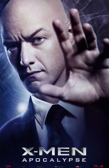 X-Men Apocalypse Charaktere - Professor Charles Xavier - 20th Century Fox - kulturmaterial