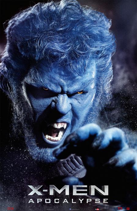 X-Men Apocalypse Charaktere - Hank McCoy - Beast - 20th Century Fox - kulturmaterial