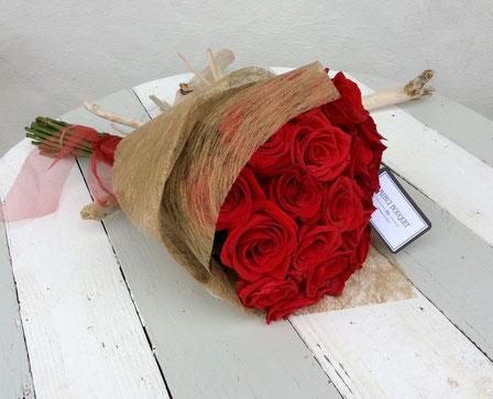 Ramo Merci bouquet 16 ó 20 rosas