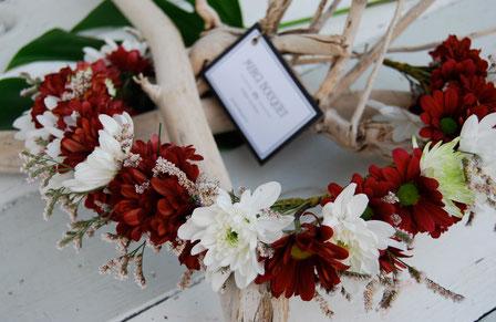 Corona de flores Merci Bouquet