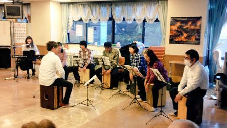 カホン-音楽教室-サークル-イベント