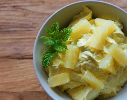 Curry-Ananas-Dip | fruchtig & schnell gemacht
