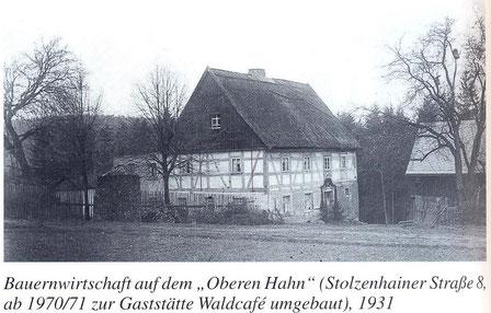 Bild: Teichler Wünschendorf Erzgebirge Stolzenhain