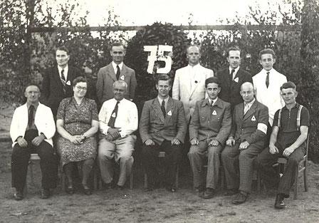 Bild:  Teichler Wünschendorf Erzgebirge Festkomitee Schulfest 1952