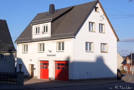 Bild:Wünschendorf Erzgebirge Teichler Feuerwehrgerätehaus