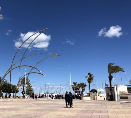 Playa Gandia, Valencia, Spain, 04/2019