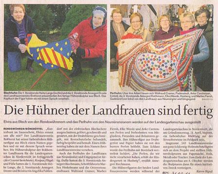 Holsteinischer Courier, 31.März 2011