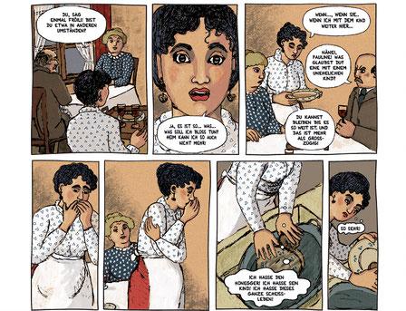 Geschichte n über Zürich 1900 aus dem Comics  Märchenmaler