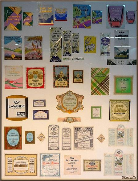 """Le """"Musée de la Lavande"""" à Coustellet (84) : collection d'anciennes étiquettes"""