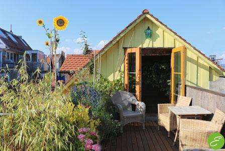 Studio mit Dachterrasse