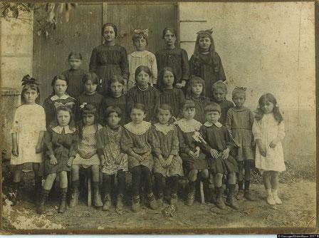 école de ladevèze-Rivière 1919 autrefois