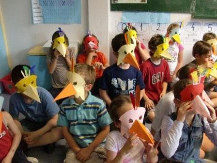 Animation dans une école