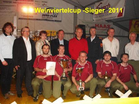 Sieger beim Weinviertel-Cup in Kottingneusiedl - Zwingendorf 1