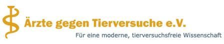 Logo Ärzte gegen Tierversuche