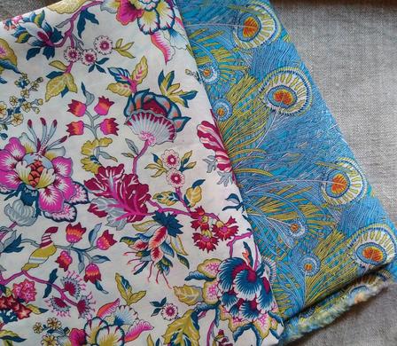 Cotton fabrics from my favorite fabric paradise in London © GriseldaK 2019