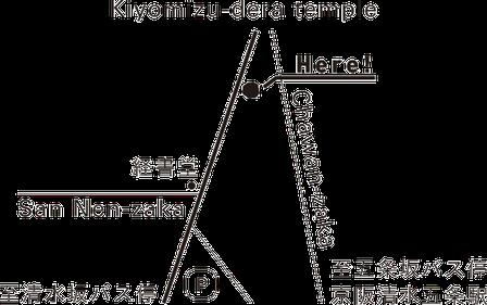 KIYOMIZUKYOAMI map 清水京あみ 地図