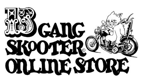 13GANG SKOOTER STUDIO/ONLINE STORE