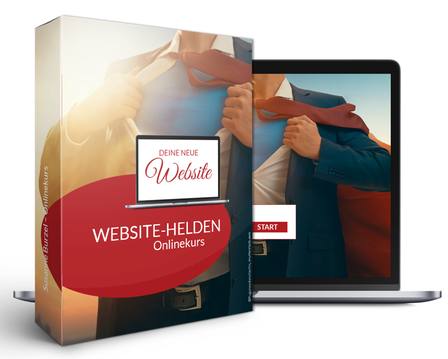 Onlinekurs Website erstellen - Website-Helden