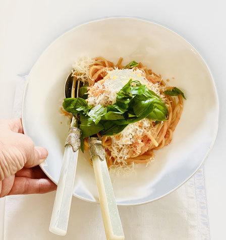 Linguine Pomodori Tomatensugo