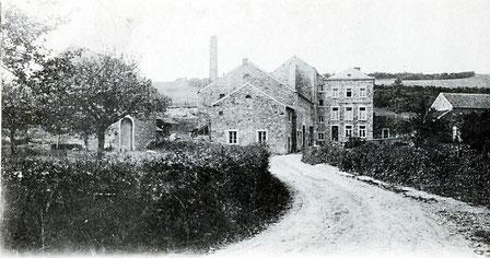 Le moulin de la Vaux 1904