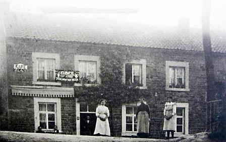 La vieille Auberge début 1900 cafe Deneumostier Méan