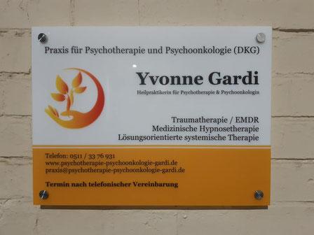 Psychotherapie und Psychoonkologie DKG Yvonne Gardi Hannover