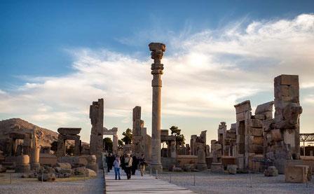 Persepolis, Darius I, ruïnes van Persepolis, Darius de Grote,