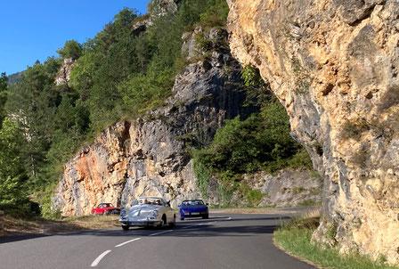 Unterwegs durch die Gorges de la Jonte