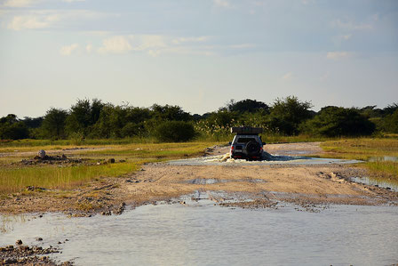 Wasserdurchfahrt zu Hakusebe River Lodge