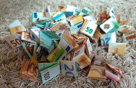 Geld für Weltreise