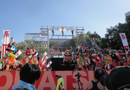 2012.8.26鳴海商工会猩々チーム