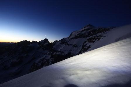 Gross Schärhorn, Skitour, Klausenpass, Iiswändli, Clariden, Chammlijoch