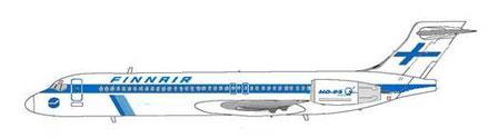 So hätte die 717-200 im klassischem Farbkleid gewirkt/MD-80.net