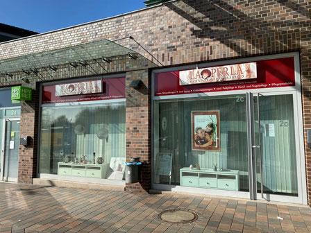 La Perla Kosmetikstudio in Bremen-Kattenturm. Kosmetik und Fußpflege am Eingang der Passage Kattenturm Bremen Obervieland