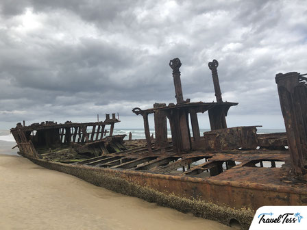 Scheepswrak SS Maheno Fraser Island