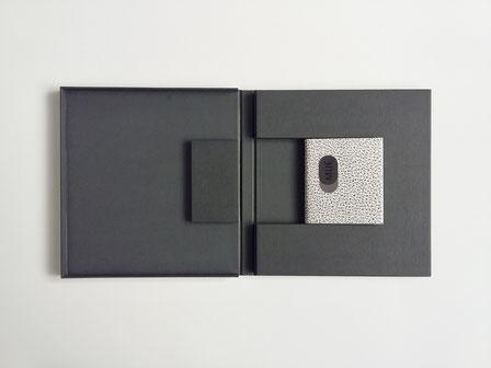 reliure d'art, livre minuscule, PAB, design du livre, book design, Pierre André Benoit,