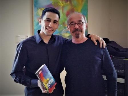 v.l. Aeham Ahmad, Dr. Andreas Lukas