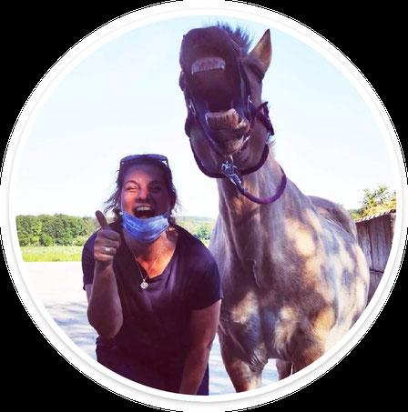 Carola Timpe und Shamrock, erfolgreich in Klasse S**
