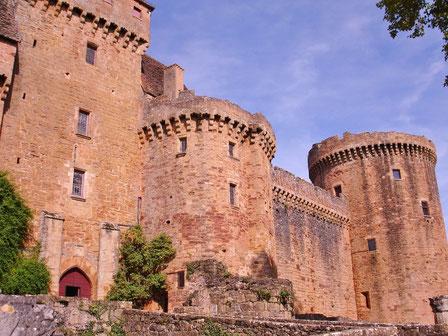 Château de Castelnau Bretenoux chambres d'hôtes Lot 46