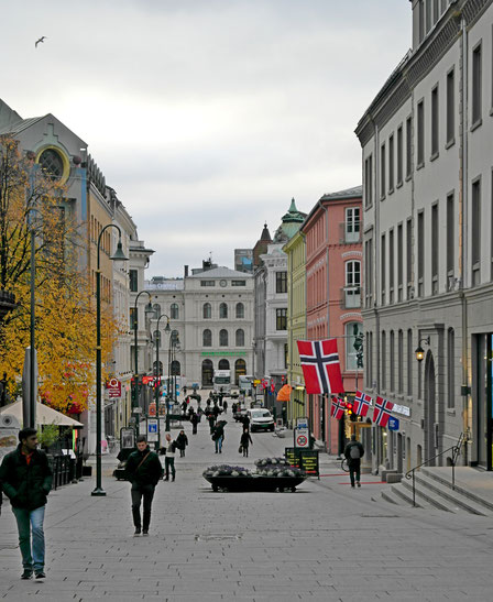 Oslo city center Norvegia