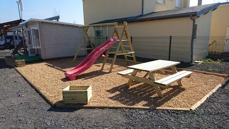 Aménagements extérieur, castor bois construction.