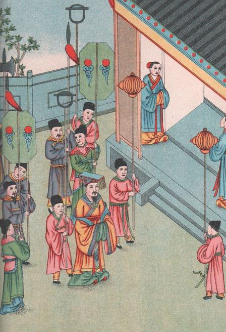 Fig. 72. Henri DORÉ (1859-1931) : Recherches sur les superstitions en Chine. Tome XIII.A. Vie de Confucius illustrée. Variétés sinologiques n° 49, Zi-ka-wei, 1918.