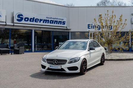 behindertengerechter Mercedes-Benz C 450 Selbstfahrerumbau, Sodermanns