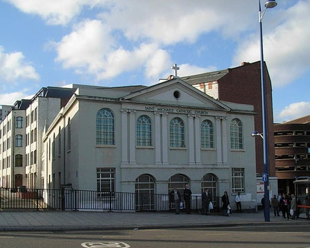 St Michael's Catholic Church in Moor Street was known as the Italian Church.