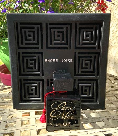 COFFRET LALIQUE - ENCRE NOIRE