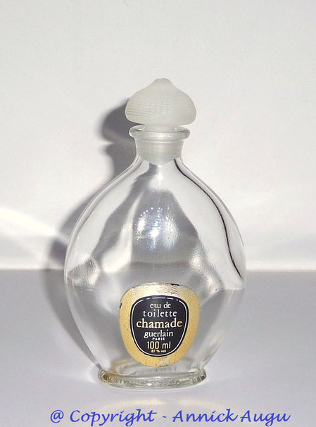 CHAMADE - FLACON GOUTTE EAU DE TOILETTE 100 ML - ETIQUETTE DIFFERENTE DE LA PRECEDENTE : CELLE-CI PORTE LA CONTENANCE DE 100 ML