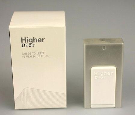 HIGHER DIOR - EAU DE TOILETTE 10 ML - MINIATURE EN MATIERE PLASTIQUE